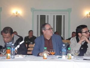 قائد المجموعة الإقليمية للدرك الوطني بعنابة العقيد سرهود إسماعيل في حصيلة نشاطات سنة 2014 011