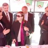 وزيرة التضامن الوطني منية مسلم من عنابة انا راضية على كل الانجازات التابعة لقطاعي