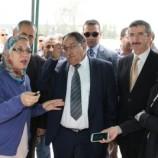 وزير الأشغال العمومية السيد عبد القادر قاضي من عنابة : يشدد على تسليم المشارع فى اجالها المحددة
