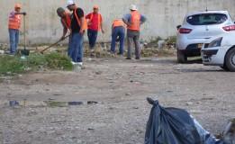 حملة تنظيف واسعة لجمع القمامة ونزع الحشائش الضارة اشرف عليها الامين العام للولاية