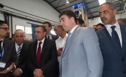 وزير الصناعة والمناجم عبد السلام بشوارب يصرح من عنابة مركب أرسيلور ميتال بالحجار اصبح 100% جزائري تحت اسم إيميتال