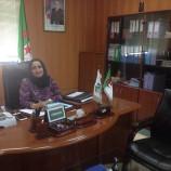 تعين على رأس المديرية الجهوية للاتصالات السيدة طالب بومهرة أمال