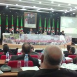 بحضور والي ولاية عنابة السيد يوسف شرفة إنعقاد الدورة العادية للمجلس الشعبي الولائي على مستوى قاعة المداولات