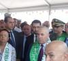 وزير السكن و العمران و المدينة السيد يوسف شرفة يعاين العديد من المشاريع التابعة لقطاعه بولاية قالمة و يشدد على استلامها فى الاجال المحددة